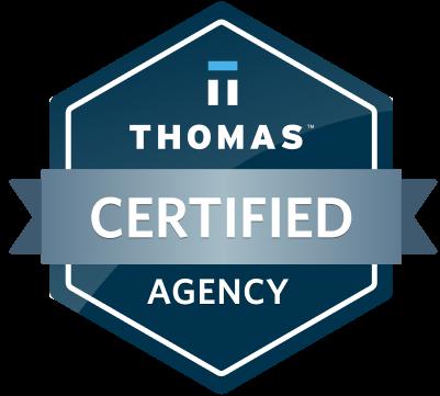 Certified Thomas Agency Logo